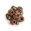 Sweet Romance Renaissance Crystal Ring