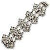 Sweet Romance Gypsy Lace Crystal Bracelet