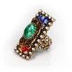 Sweet Romance Millefiori Glass Ring