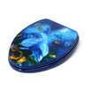 <strong>Topseat</strong> 3D Ocean Series Dolphin Mother and Calf Elongated Toilet Seat