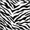 The Crafter's Workshop Zebra Print Template