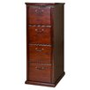 <strong>Huntington Club Four Drawer File Pedestal</strong> by kathy ireland Home by Martin Furniture