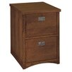 <strong>Mission Pasadena 2-Drawer  File</strong> by kathy ireland Home by Martin Furniture