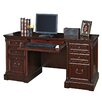 kathy ireland Home by Martin Furniture Mount View Executive Desk with Drawers