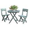 Adams Manufacturing Corporation Quik-Fold 3 Piece Cafe Dining Set