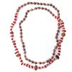 DeBuman Gemstone and Cultured Pearl Strand Necklace