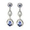 DeBuman Gemstone Drop Earrings