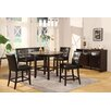 Bossa 5 Piece Counter Height Dining Set