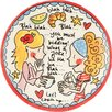 "Blond-Amsterdam Small Talk 8.7"" Plate"