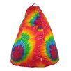 Gold Medal Bean Bags Dorm Tie Dye Bean Bag Lounger