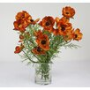 Creative Displays, Inc. Poppies in Glass Vase