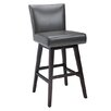 "<strong>Sunpan Modern</strong> Vintage 30"" Swivel Bar Stool with Cushion"