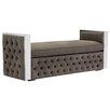 Sunpan Modern Privada Metal Bedroom Bench