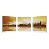 Artistic Bliss Seattle Skyline 3 Piece Photographic Print Set