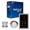 Steam Spa 4.5 kW Indulgence Touch Pad Steam Generator Package