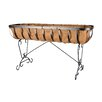 Arcadia Garden Products Solstice Standing Trough Planter