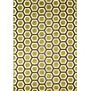 Abacasa Sonoma Apple Green Honeycomb Rug
