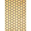 Abacasa Sonoma Tangerine Honeycomb Rug