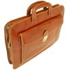 <strong>Floto Imports</strong> Milano Sleeve Leather Laptop Briefcase