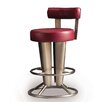 "Createch Saturne 30"" Swivel Bar Stool with Cushion"