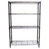 "<strong>NSF Indoor Wire 54"" H 4 Shelf Shelving Unit Starter</strong> by Trinity"
