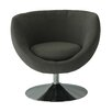 Fox Hill Trading Globus Disc Base Barrel Chair