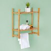 "Fox Hill Trading Bamboo 31"" Wall Mount Towel Rack"