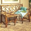 <strong>Coastal Chic Rattan English Bench</strong> by Kenian