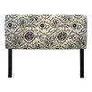 <strong>Sole Designs</strong> Suzani Vine Upholstered Headboard