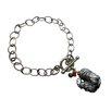 Vivian Yang Rooster Gemstone Charm Bracelet