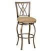 "<strong>Hillsdale Furniture</strong> Brookside 30"" Swivel Bar Stool with Cushion"