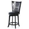 "Hillsdale Furniture Van Draus 24"" Swivel Bar Stool with Cushion"