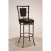 "<strong>Hillsdale Furniture</strong> Auckland 30"" Swivel Bar Stool with Cushion"