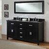 "J&J International LLC Hutton Spa 63"" Elite Double Bathroom Vanity Set"