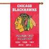 Party Animal NHL Applique Banner Flag