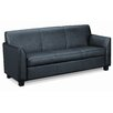 <strong>Three Seat Leather Sofa</strong> by Basyx by HON