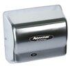American Dryer Advantage Standard 100 - 240 Volt Hand Dryer in Satin Chrome