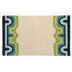 Trina Turk Residential Arcata Tan/Green Hook Area Rug