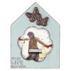 "<strong>Malden</strong> 4"" x 4"" Make Life Beautiful House Picture Frame"