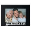 "Malden 4"" x 6"" Three Generations Picture Frame"