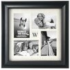 Malden Barnside Initial 4-Opening Picture Frame