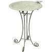 <strong>Innova Hearth and Home</strong> Vintage Tuscany Floral Birdbath