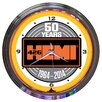 "<strong>Neonetics</strong> 15"" Hemi 50Th Anniversary Neon Clock"