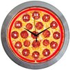 "<strong>Neonetics</strong> 15"" Pizza Neon Clock"