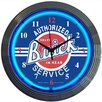 "Neonetics Cars and Motorcycles 15"" Buick Wall Clock"
