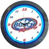 "<strong>Neonetics</strong> 15"" Busch Racing Wall Clock"