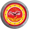 "Neonetics Drinks 15"" Coca Cola Wings Wall Clock"