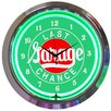 """<strong>Cars and Motorcycles 15"""" Last Chance Garage Wall Clock</strong> by Neonetics"""