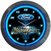 "<strong>Neonetics</strong> 15"" Powered By Ford Wall Clock"