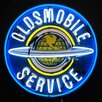 <strong>Neonetics</strong> Oldsmobile Service Neon Sign